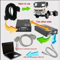 China Testing Programming Truck Hino Diagnostic Software Explorer With Ecu Harness Cable on sale