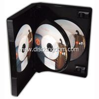 Buy 14mm 6 disc DVD case soft PP CD case,plastic CD box with tray at wholesale prices