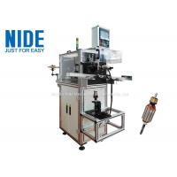 Buy cheap Armature Rotor Slot Wedge Inserting Machine / Servo Motor Wedge Cutting Armature O.D 20-55mm from wholesalers