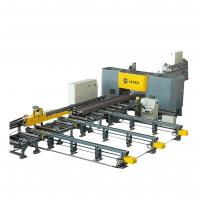 Quality High Speed CNC Beam Drilling and Sawing Machine Line Steel Structure Industry for sale