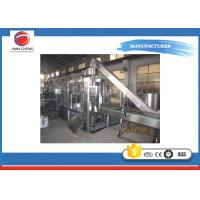 Quality Small Scale Soda Bottling Equipment 11KW , Carbonated Beverage Filling Machine PLC Control for sale