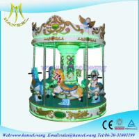 Quality Hansel coin operated kiddie rides carousel horse for family park for sale