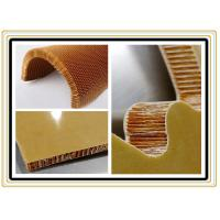Buy cheap Light Weight Flame Retardant Aramid Honeycomb Panels With Benzoxazine Resin from wholesalers