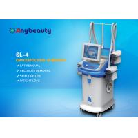 Quality Vacuum Four Handles Cryolipolysis Fat Freeze Slimming Machine For Weight Loss for sale