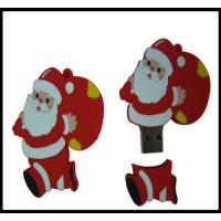 Quality Christmas Gift!!! OEM Santa Claus Pvc usb flash drive, usb flash memory, usb disk,usb chip for sale