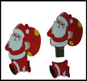 Quality Christmas Gift!!! OEM Santa Claus Pvc usb flash drive, usb flash memory, usb flash for sale