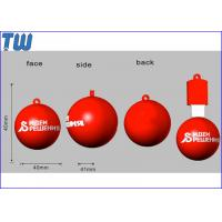 Buy cheap Customized PVC 3D Ball 8GB USB Flash Drive Company Promotional Gift from wholesalers