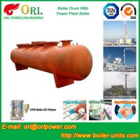 Quality Water proof coal fired boiler mud drum ORL Power for sale