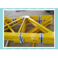 Quality Steel Structure Tower Crane Mast Section Construction With Shot Blast for sale