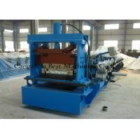 Quality Tapered Standing Seam Metal Roof Roll Forming Machine 5.5kw Hydraulic Cutting Type for sale