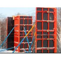 Quality SGS Q235 Steel Building Column Formwork Spray Painted , Orange / Blue Color for sale