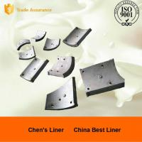 Quality Wearable Pearlitic Cr-Mo Alloy Steel Heat Resistant Castings , Large Ball Mill Liners for sale