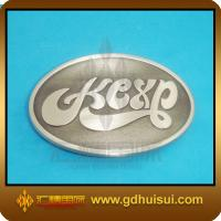 Quality promotional oval custom belt buckle for sale
