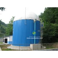 Quality AWWA D103 / EN ISO28765 Standard Glass Fused Steel Tanks for Industrial Bulk Solid Storage Plant for sale