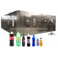Quality Liquid Automatic Carbonated Drink Filling Machine , Soft Drinks Making Machine for sale