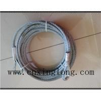 Quality Sell wire rope sling with thimble in both ends for sale