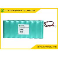 Quality 9.6V 1300mah AA NIMH Rechargeable Battery Pack OEM / ODM Acceptable for sale