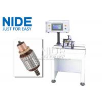 Quality PLC Controlled Armature Balancing Machine , Automatic Motor Rotor Testing Equipment for sale