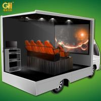 China Digital Control 7D Movie Theater , 7D Movie Trailer Customized Color CE ROHS on sale