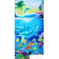 Quality Supper Soft  Cotton Custom Printed Beach Towels Dryfast OEM Welcome for sale