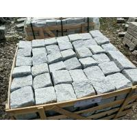 Buy Grey Granite Cube Natural Limestone Tile Corrosion Resistant Design at wholesale prices