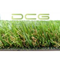 Quality Dark Green Natural Looking Artificial Grass S Shape 11000 Dtex UV Resistant Good Price for sale