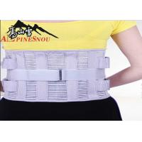 Quality High Waist Support Belt With High Elastic Fish Silk Cloth And Steel Plates for sale