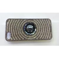 Buy cheap Silver iPhone4 Cell Phone Case Bling Shining Crystal Anti - slip For Girl from wholesalers