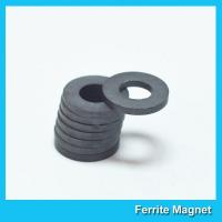 Industrial Large Ring Shape Ferrite Speaker Magnet 53mm X 24mm X 11mm for sale