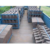 Quality Cement Mill Wear Resistance Cast Iron Liner Plates For Conch Cement Group Diameter3.8M for sale