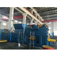 Quality Customized Plastic Baler Machine 55 kW With Touch Screen Inserted Valves for sale