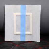 Quality Medical waterproof transparent wound dressing adhesive pad silicone wound dressing border for sale