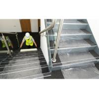 Buy cheap Stable Adhesive Carpet Protector Film Clear Color PE Material For Stairs from wholesalers