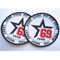Buy Rubber 3D Custom Clothing Patches Embosssed With Backing at wholesale prices