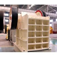 Stable Running Vertical Stone Jaw Crusher For Limestone / Granite / Cobble
