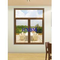 Tempered Clear Glass Aluminum Sliding Windows 6063 -T5 Aluminum Profile For Townhouses for sale
