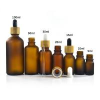 Buy Cosmetics 50ml Essential Oil Glass Dropper Bottle High Proficiency PP24 Cap at wholesale prices