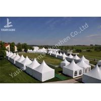Buy cheap Fast Setting Up Strong High Peak Tents Aluminum Structure Tent Wind Resistant from wholesalers