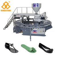 Buy cheap Single Color Rotary Sandal Making Machine For Plastic PVC Shoes Injection from wholesalers