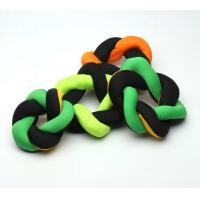 Quality Donut Shape Chewable Dog Toys /  Durable Soft Chew Toys For Puppies for sale