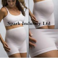 Quality Seamless Stretchable Maternity Briefs , Anti-Radiation Pregnant Clothing for sale