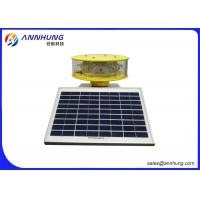 Quality UV Protection Solar Powered Marker Lights / Aircraft Warning Lights On Towers for sale
