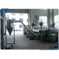 Quality PP PE Plastic Pellets Making Machine , Wood Plastic Compounding Granulating Line for sale