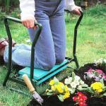 Quality Folding Garden Kneeler Seat , Portable Garden Kneeling Stool Convenient Function for sale