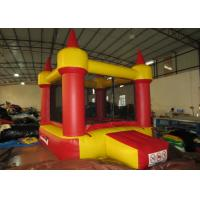 Quality Red small inflatable jump castke house for kids under 7 years inflatable mini bouncer castle for sale