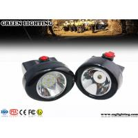 China GL2.5-C Safety LED Mining Cap Lights 2.8AH 6000 Lux 230mA Cordless Style IP67 on sale