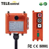 China Two single speed button radio remote control for crane F21-2S on sale
