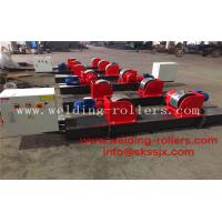 Buy cheap Bolt  Adjustment Conventional Pipe Welding Rollers 40 Ton Load Capacity from wholesalers
