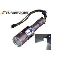 Quality 1200LMs CREE XM-L L2 Powerful LED Flashlight USB Charging, 5 Modes Bike Lights for sale