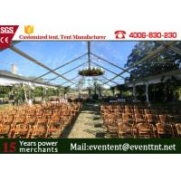 China CLEAR SPAN TENT Best Quality Luxury Outdoor Wedding Tent All Sizes on Sale on sale